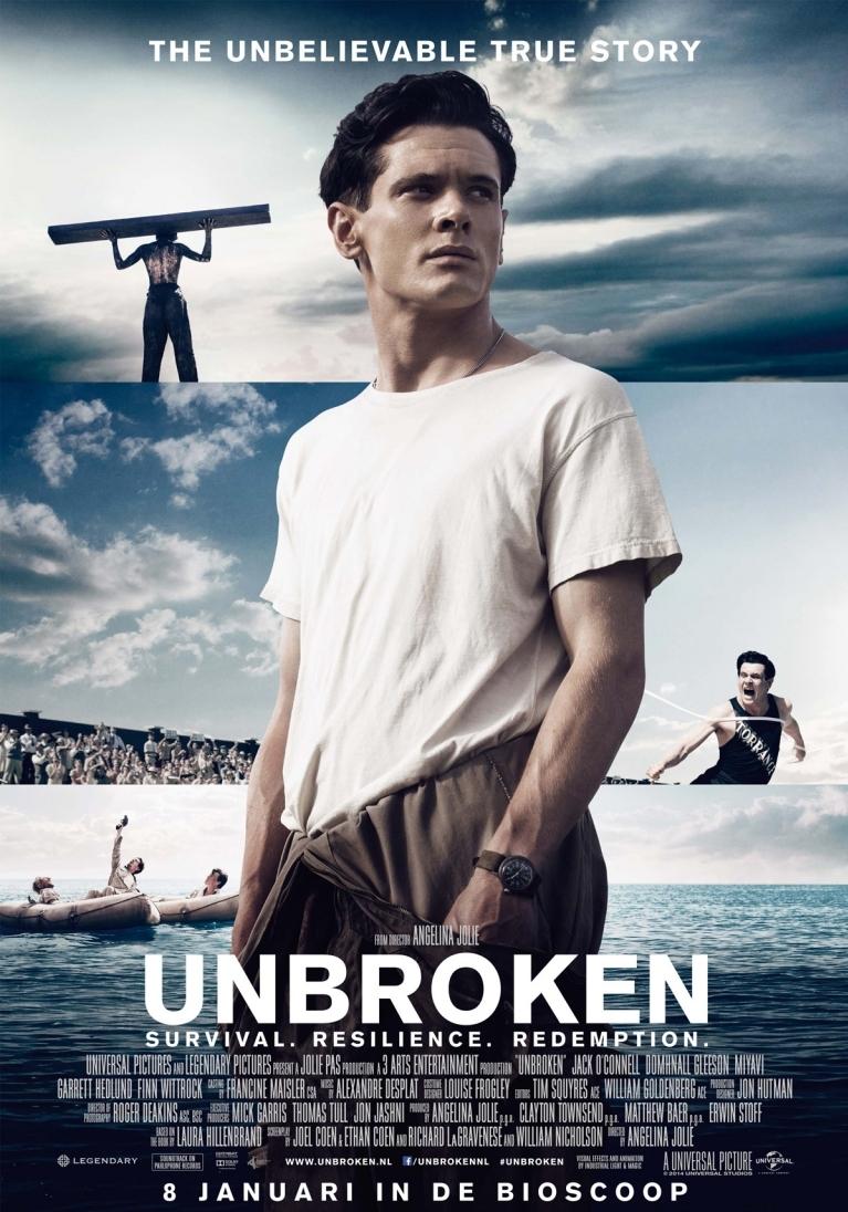 Unbroken poster, © 2014 Universal Pictures