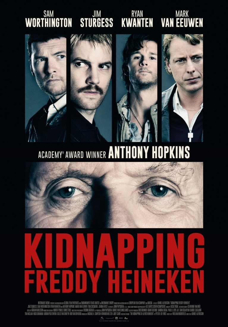 Kidnapping Freddy Heineken poster, © 2014 A-Film Distribution