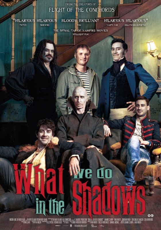 What We Do in the Shadows poster, © 2014 Filmfreak Distributie