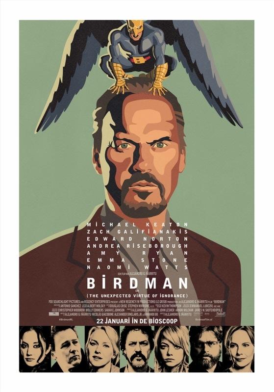 Birdman poster, © 2014 20th Century Fox