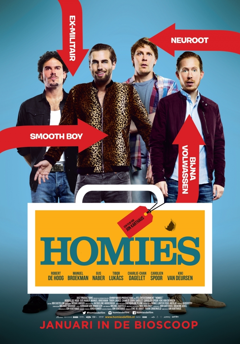 Homies poster, © 2015 Just Film Distribution