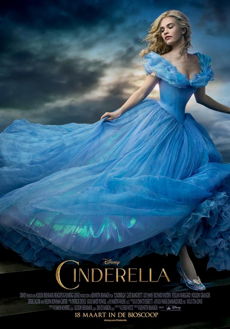 Cinderella poster, © 2015 Walt Disney Pictures
