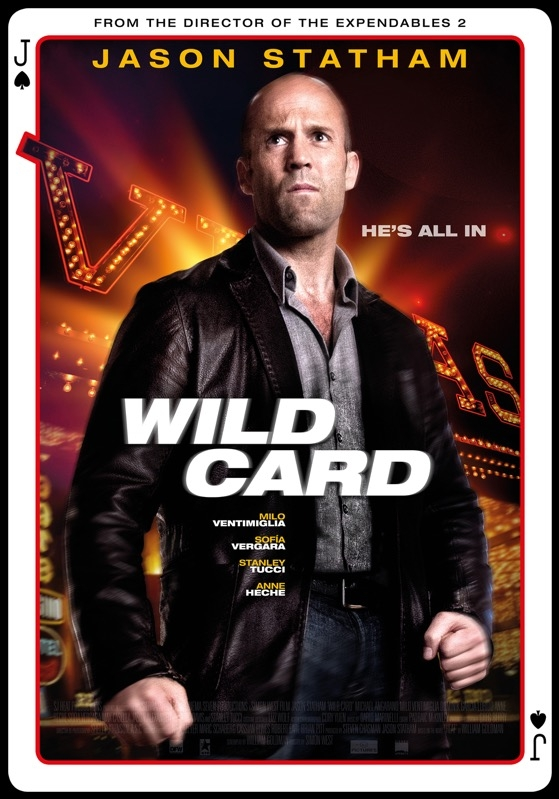 Wild Card poster, © 2014 Dutch FilmWorks