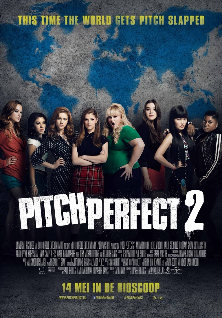 Pitch Perfect 2 poster, © 2015 Universal Pictures International