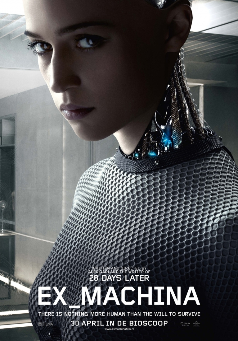 Ex Machina poster, © 2015 Universal Pictures