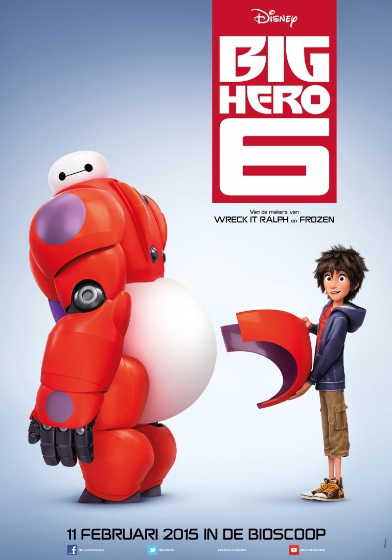 Big Hero 6 poster, © 2014 Walt Disney Pictures