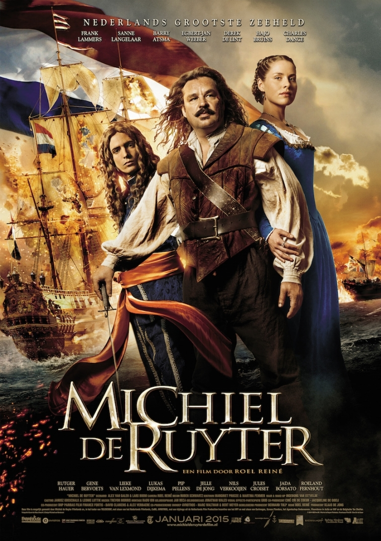 Michiel de Ruyter poster, © 2014 A-Film Distribution