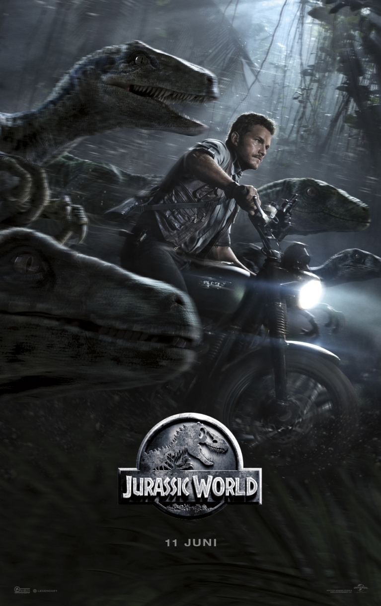 Jurassic World poster, © 2015 Universal Pictures International