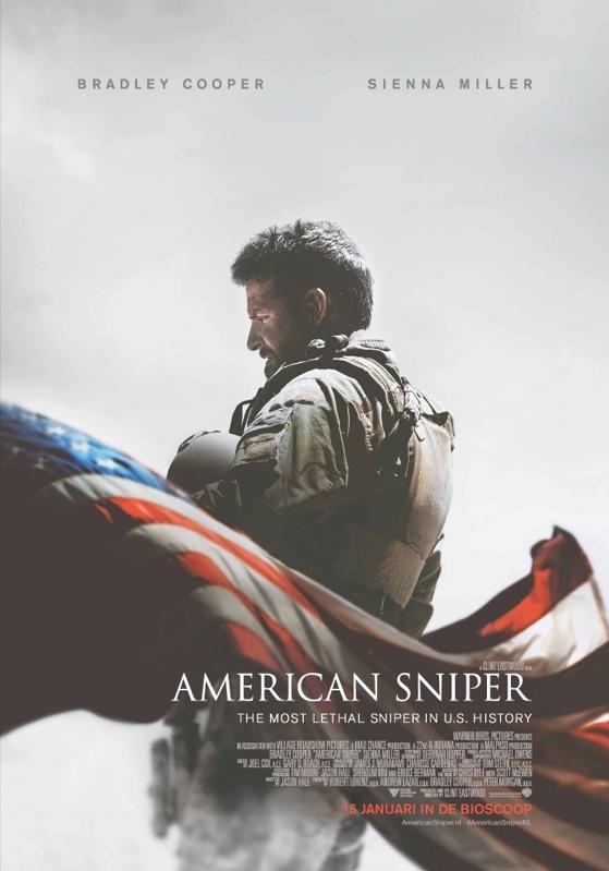 American Sniper poster, © 2014 Warner Bros.