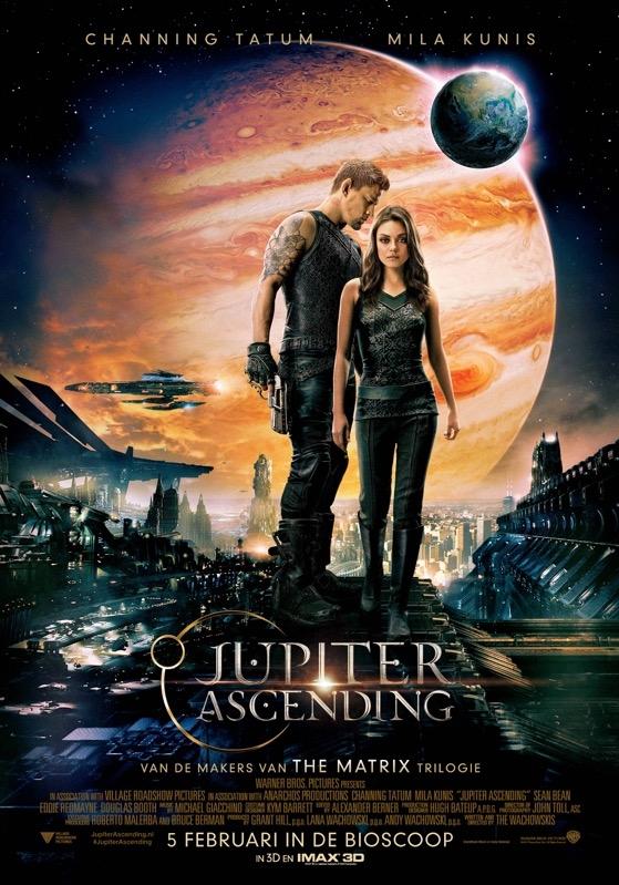 Jupiter Ascending poster, © 2014 Warner Bros.