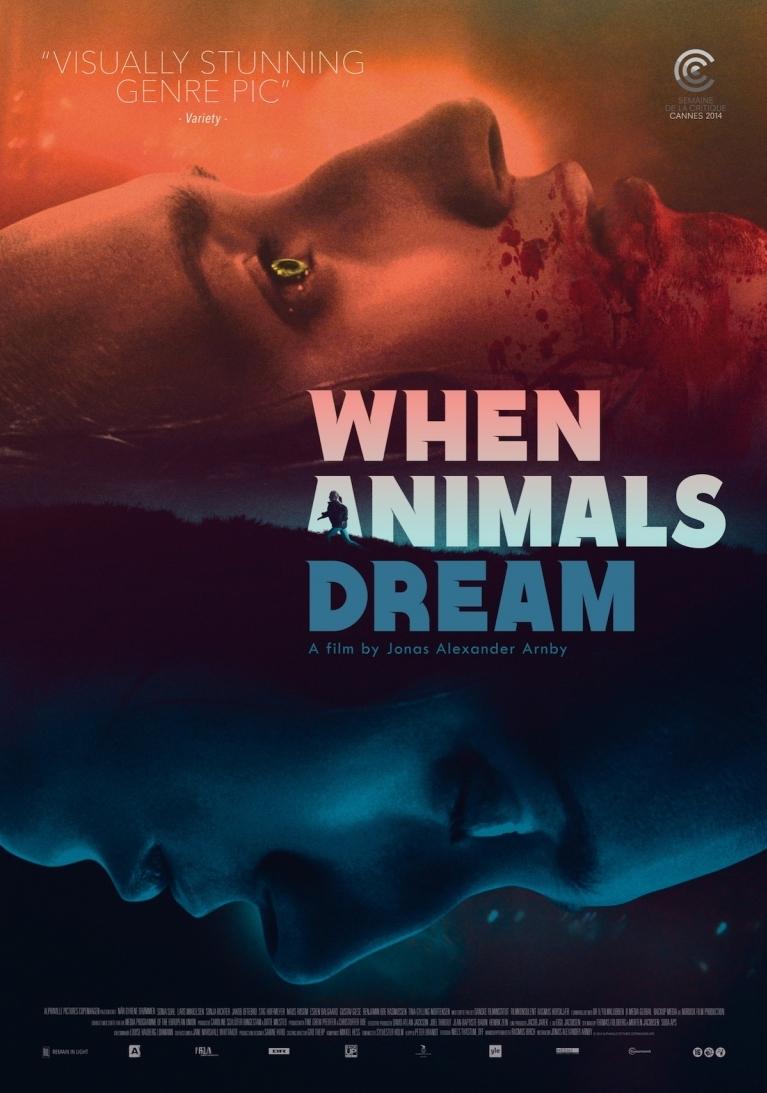 Når dyrene drømmer poster, © 2014 Filmfreak Distributie