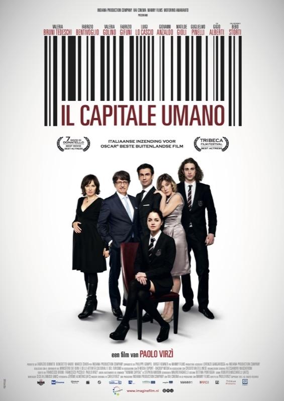 Il capitale umano poster, © 2013 Imagine