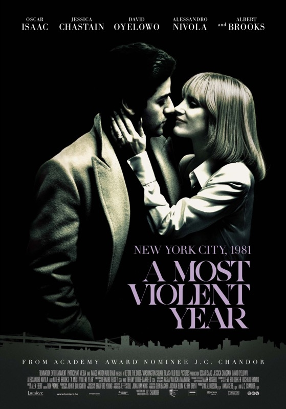 A Most Violent Year poster, © 2014 Lumière