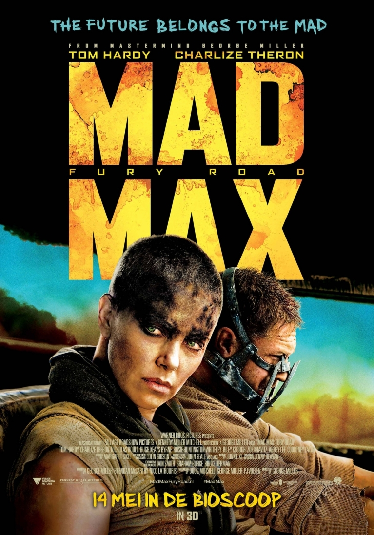 Mad Max: Fury Road poster, © 2013 20th Century Fox