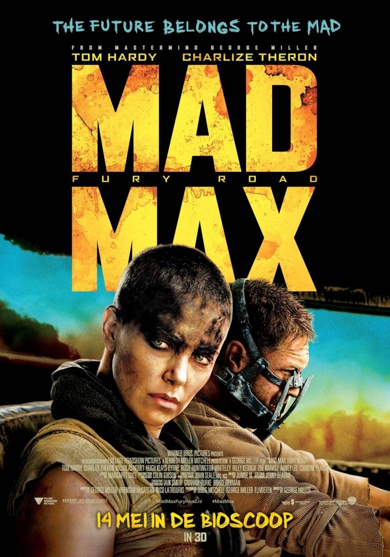 Mad Max: Fury Road poster, © 2013 20th Century Fox