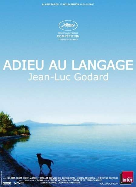 Adieu au langage poster, copyright in handen van productiestudio en/of distributeur