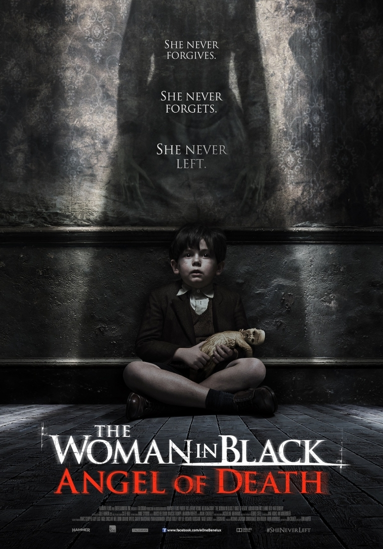The Woman in Black 2: Angel of Death poster, © 2015 E1 Entertainment Benelux