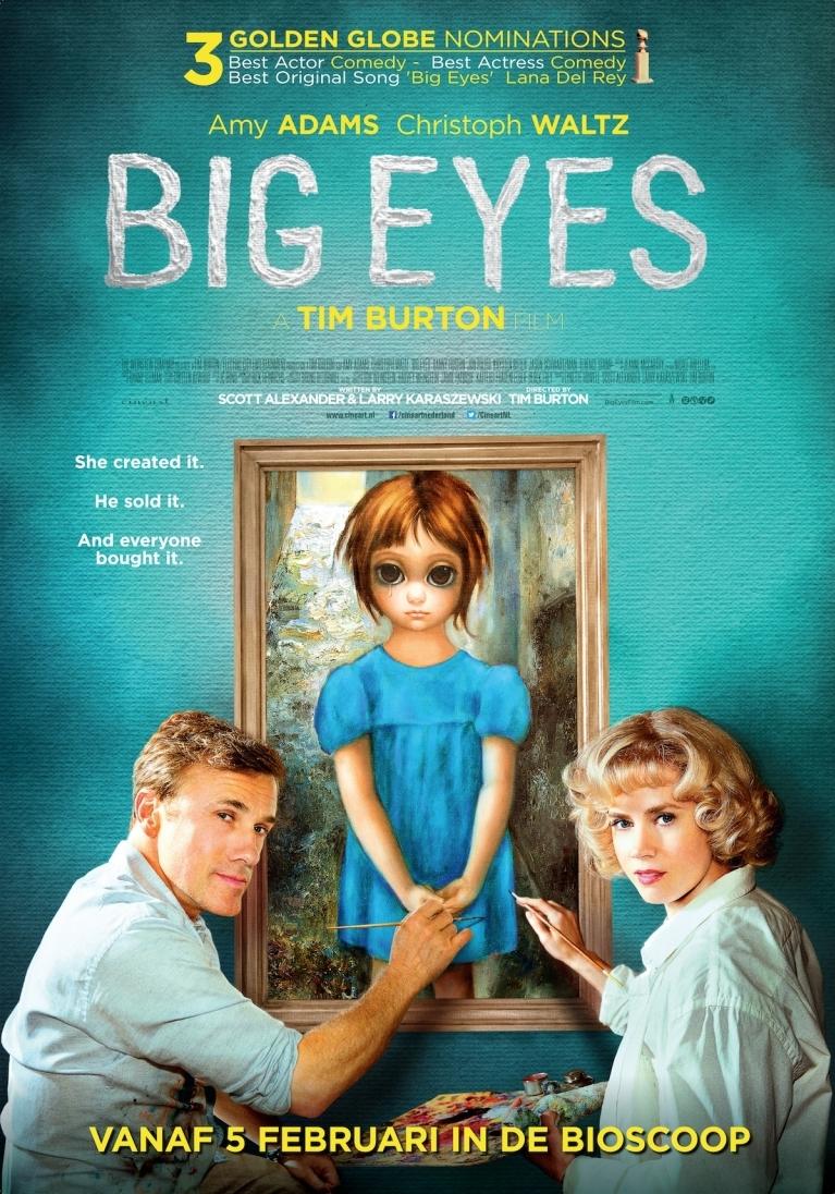 Big Eyes poster, © 2014 Cinéart
