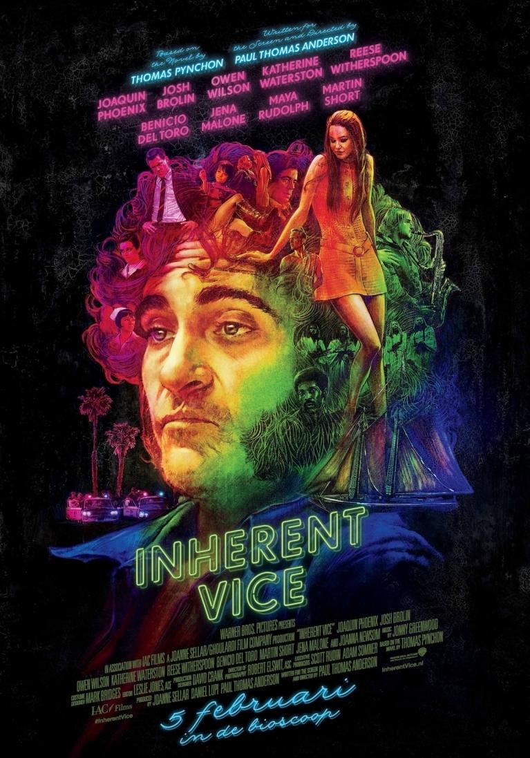 Inherent Vice poster, © 2014 Warner Bros.