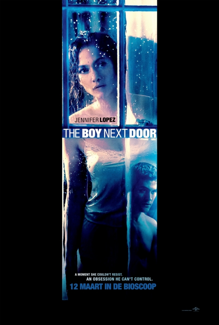 The Boy Next Door poster, © 2015 Universal Pictures
