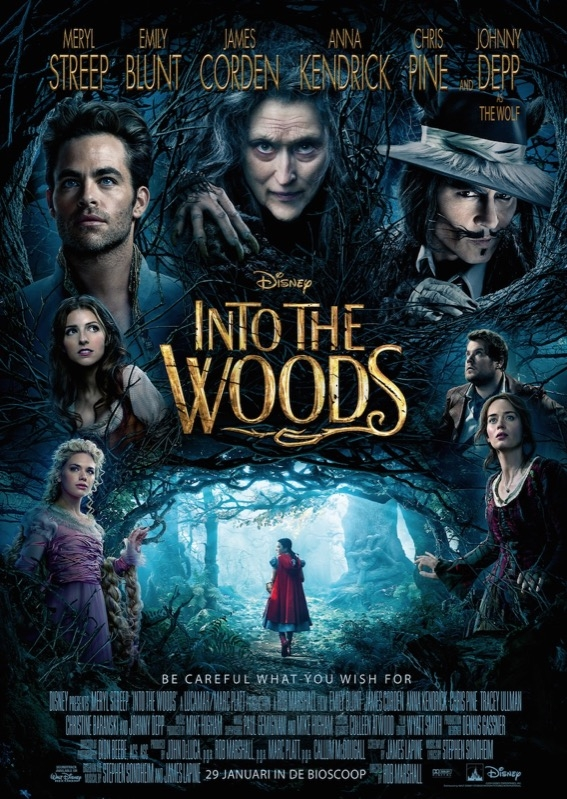 Into the Woods poster, © 2014 Walt Disney Pictures