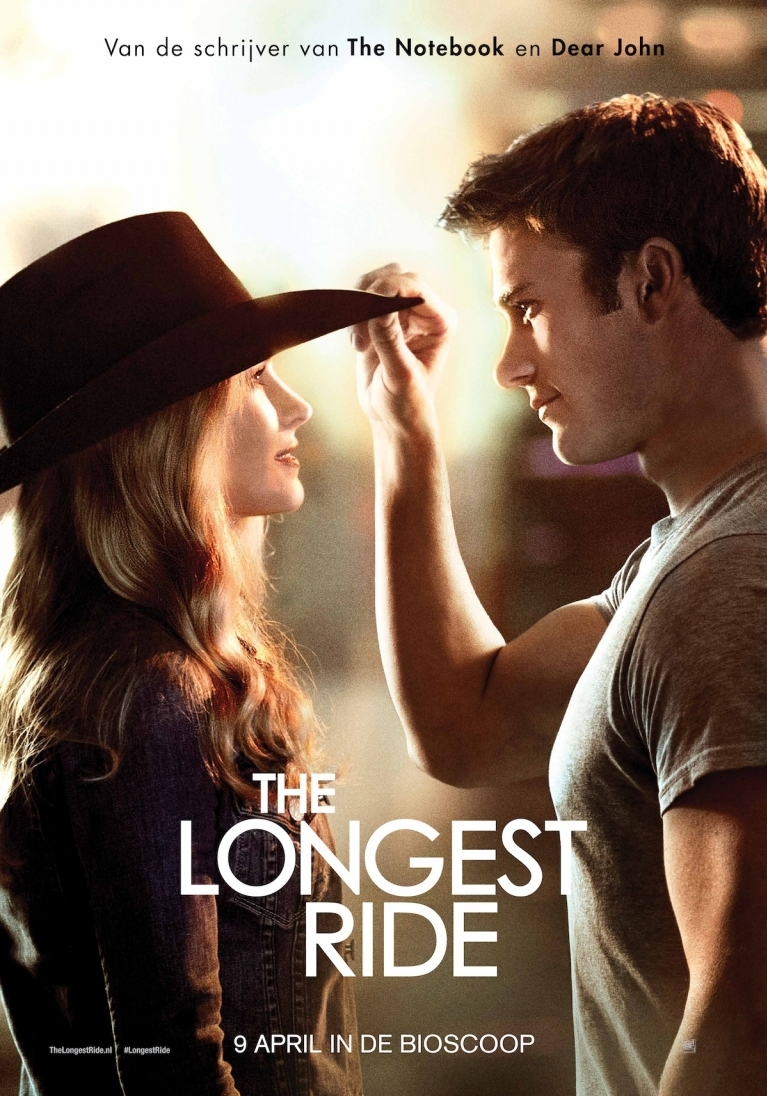 The Longest Ride poster, © 2015 20th Century Fox
