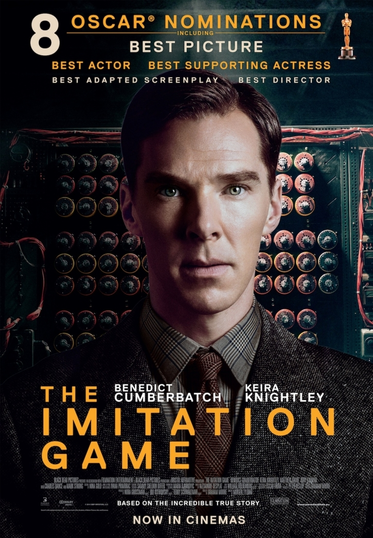 The Imitation Game poster, © 2014 Paradiso