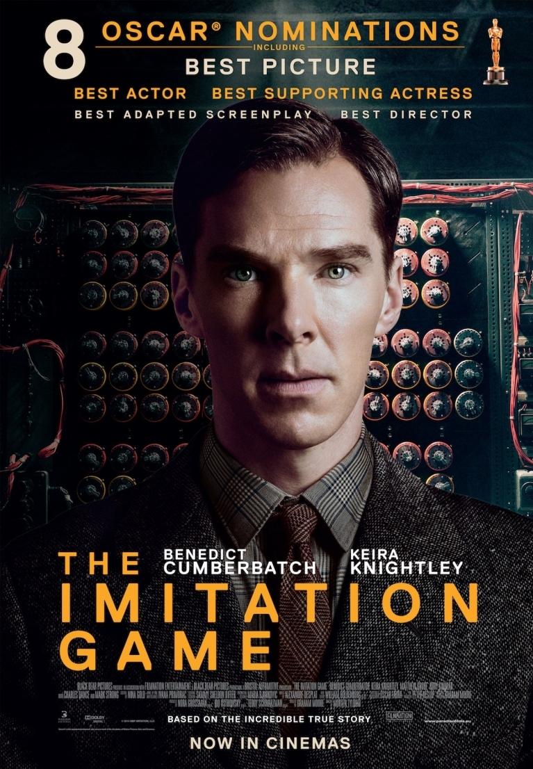 The Imitation Game poster, © 2014 Paradiso