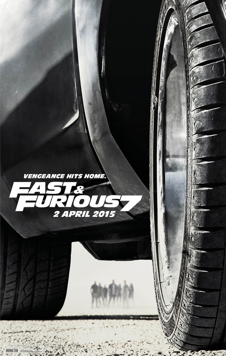 Fast & Furious 7 poster, © 2015 Universal Pictures