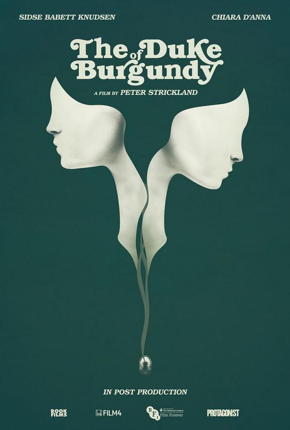 The Duke of Burgundy poster, © 2014 Cinemien