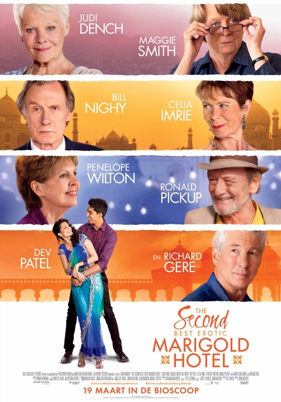 The Second Best Exotic Marigold Hotel poster, © 2015 20th Century Fox