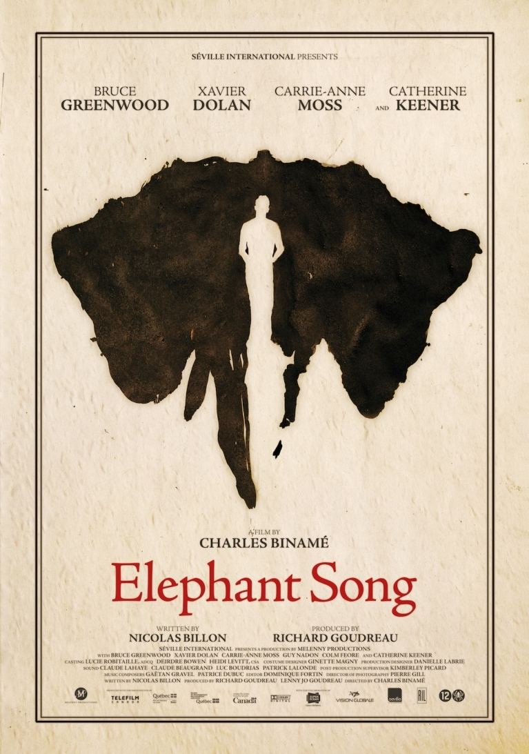 Elephant Song poster, © 2014 Remain in Light