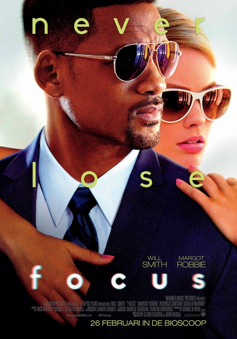 Focus poster, © 2015 Warner Bros.