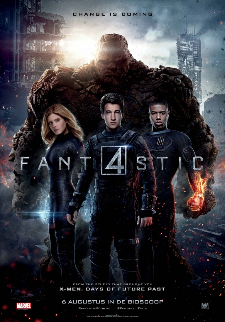 The Fantastic Four poster, © 2015 20th Century Fox