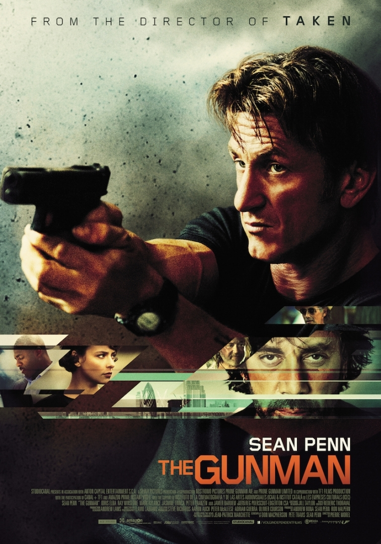 The Gunman poster, © 2015 Independent Films