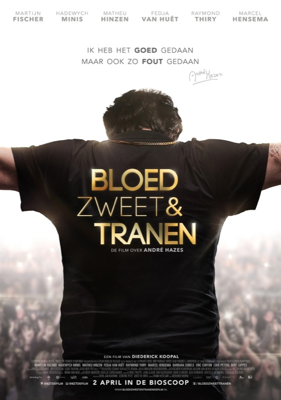 Bloed, Zweet en Tranen poster, © 2015 A-Film Distribution