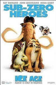 Poster 'Ice Age' (c) 2002 FOX