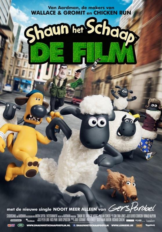 Shaun het schaap: de film (NL) poster, © 2015 Lumière