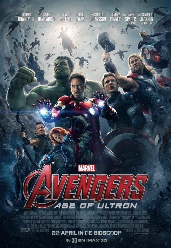 Avengers: Age of Ultron poster, © 2015 Walt Disney Pictures