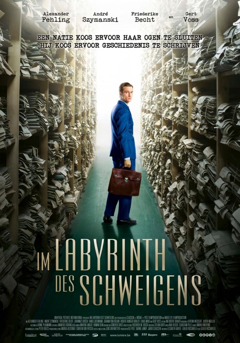 Im Labyrinth des Schweigens poster, © 2014 Lumière