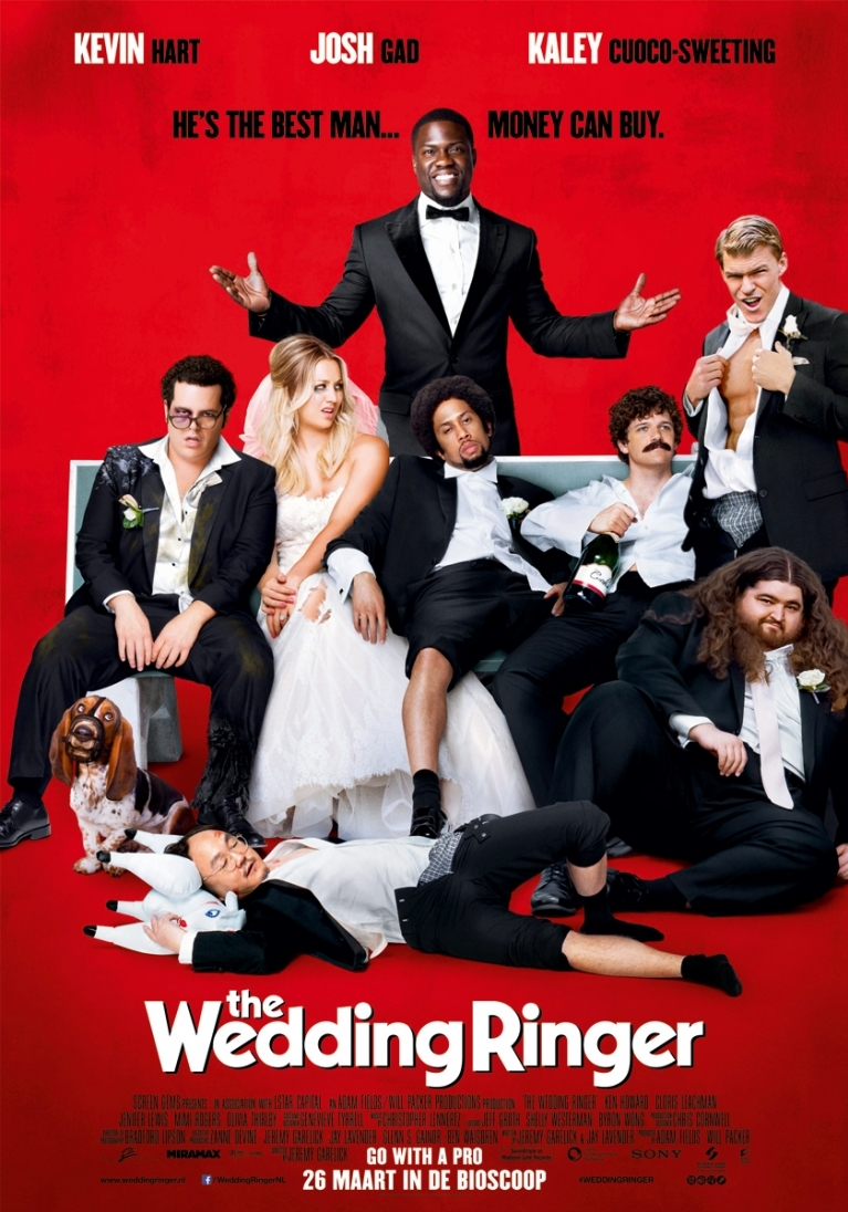 The Wedding Ringer poster, © 2015 Universal Pictures