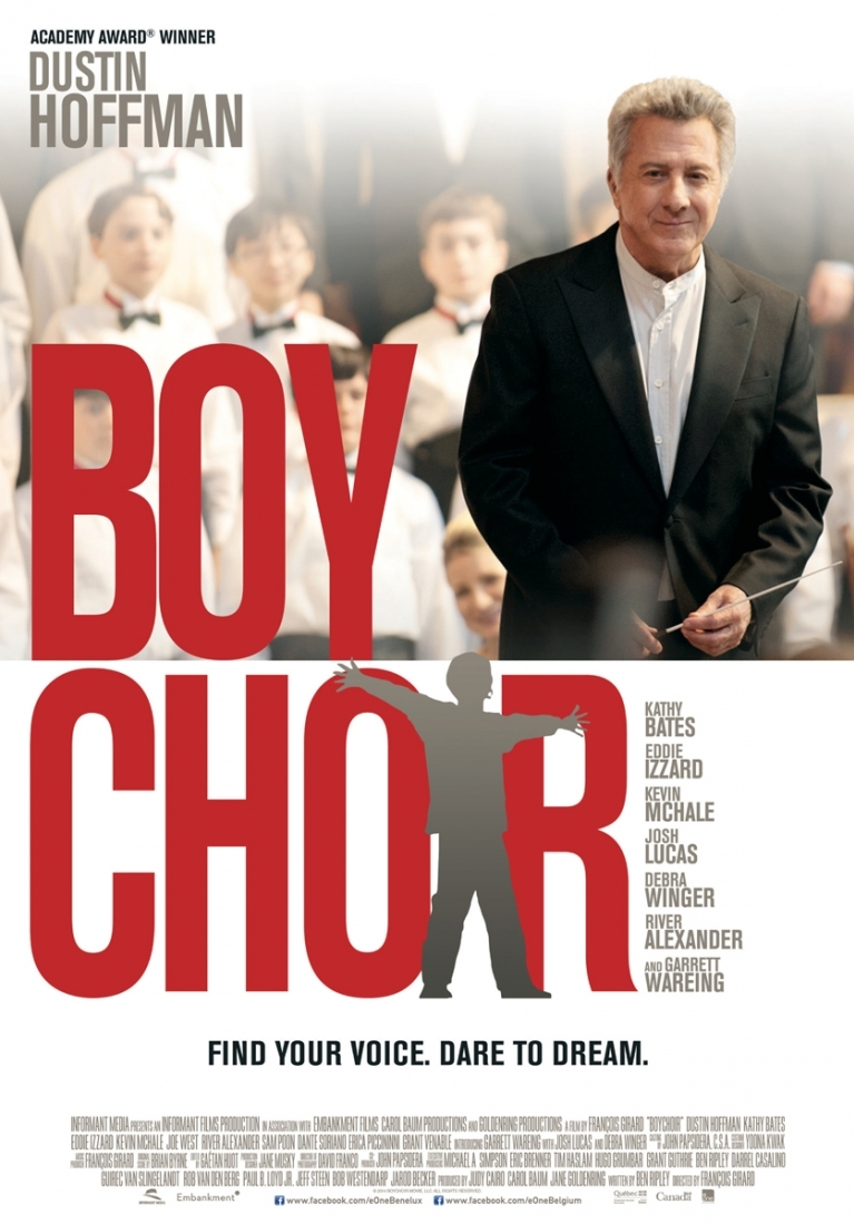 Boychoir poster, © 2014 Entertainment One Benelux