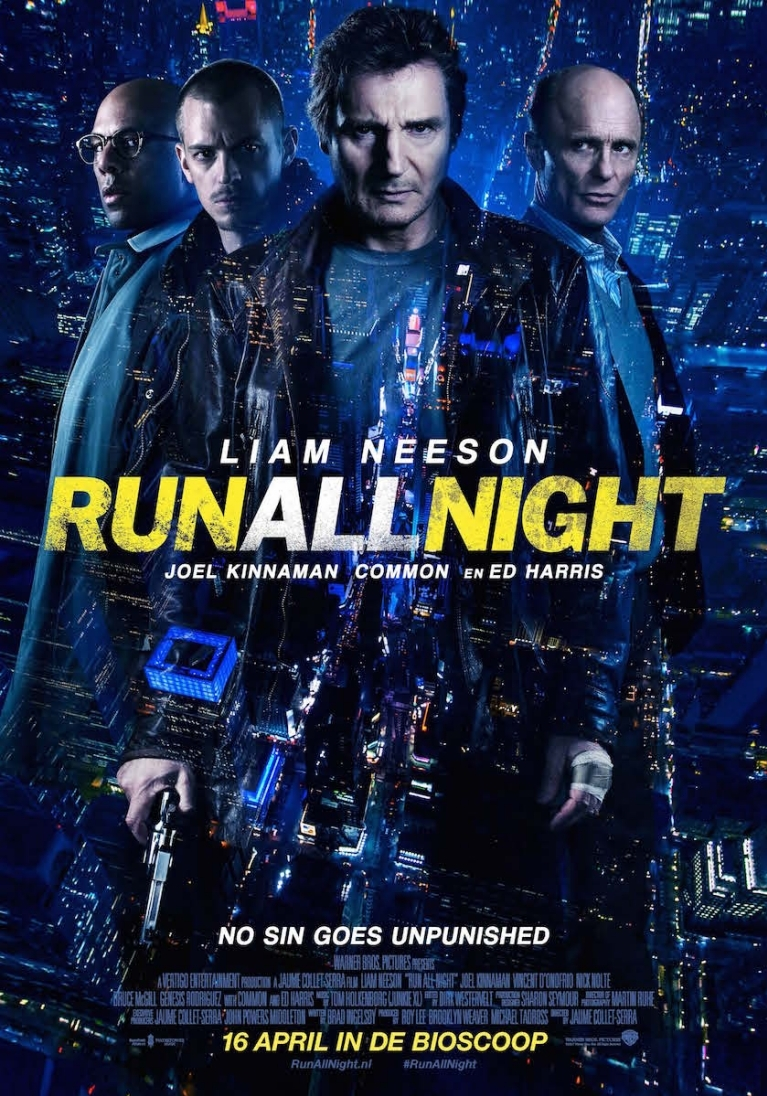 Run All Night poster, © 2015 Warner Bros.
