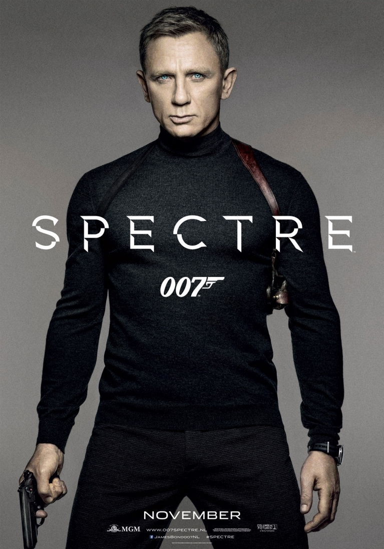 Spectre poster, © 2015 Universal Pictures International