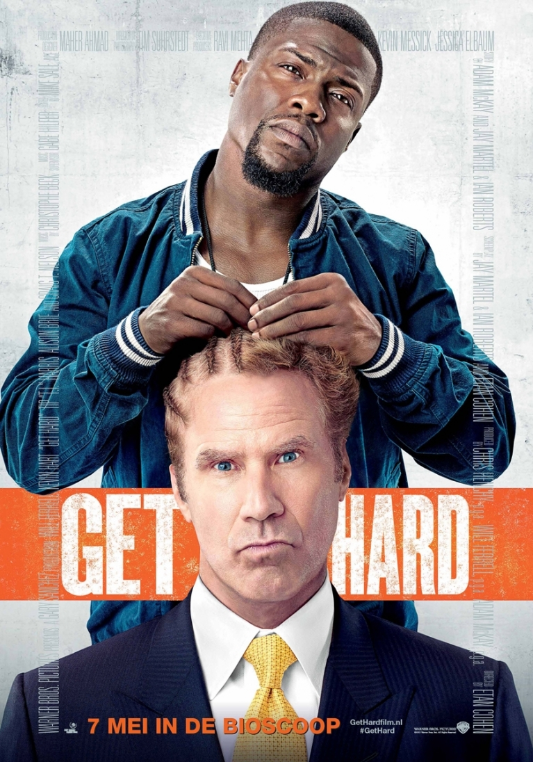 Get Hard poster, © 2015 Warner Bros.