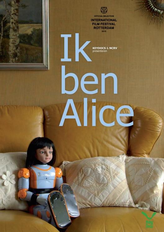 Ik Ben Alice poster, copyright in handen van productiestudio en/of distributeur