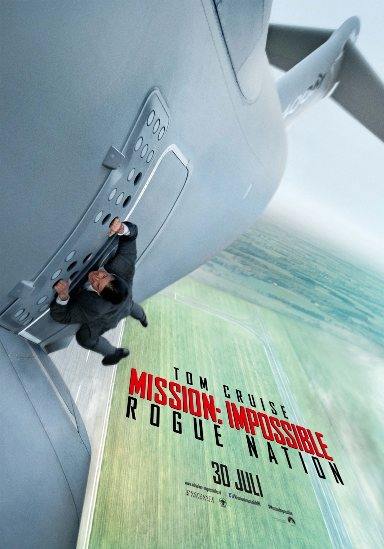 Mission: Impossible - Rogue Nation poster, © 2015 Universal Pictures International