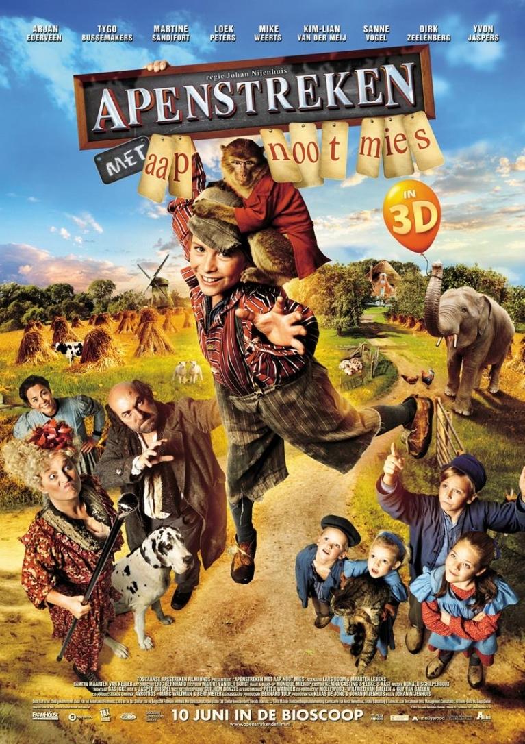 Apenstreken poster, © 2015 A-Film Distribution