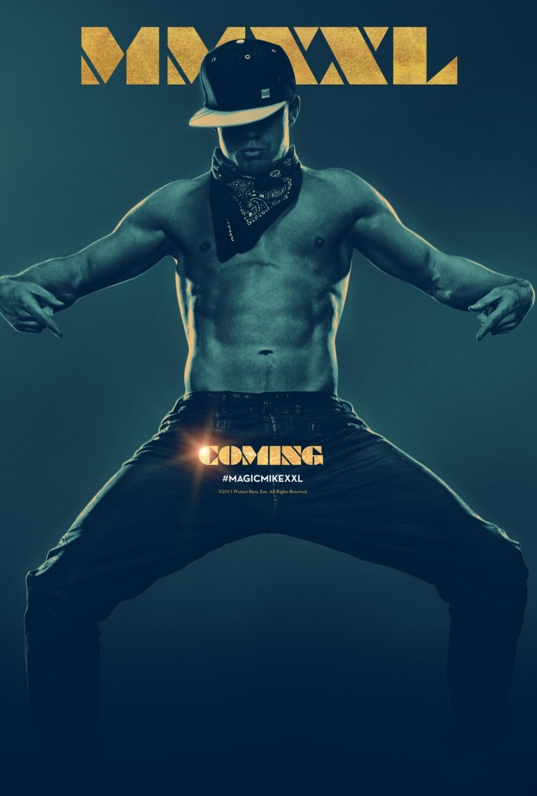 Magic Mike XXL poster, © 2015 Warner Bros.