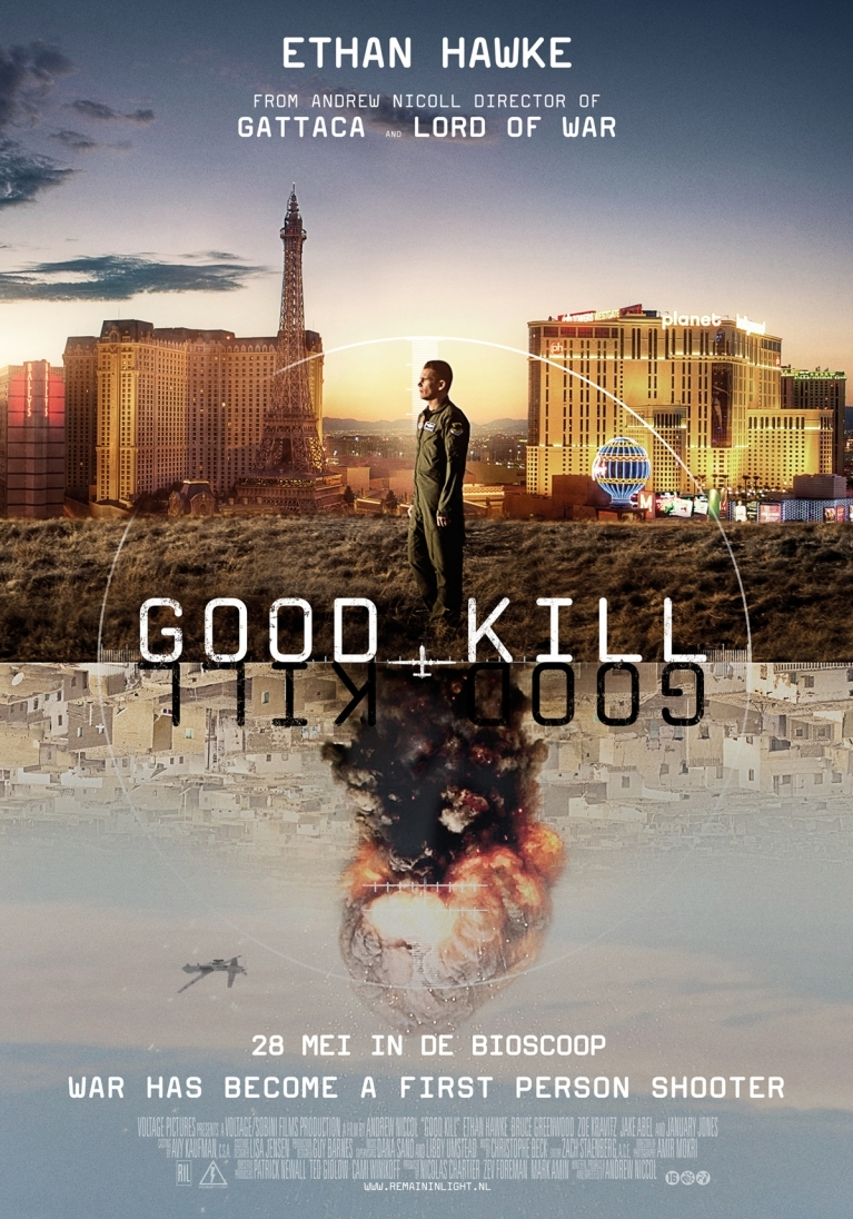 Good Kill poster, © 2014 Remain in Light